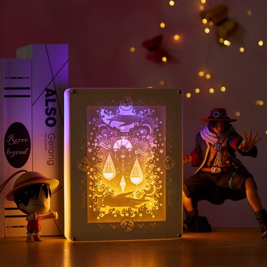 constellation - libra 3D PAPER CUT LIGHTBOX