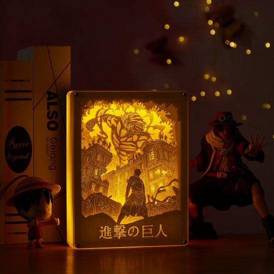 Attack on Titan 3D PAPER CUT LIGHTBOX