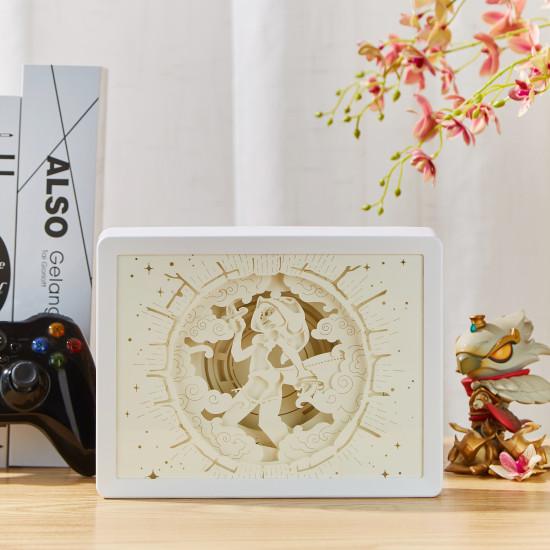 dofus - sram 3D PAPER CUT LIGHTBOX