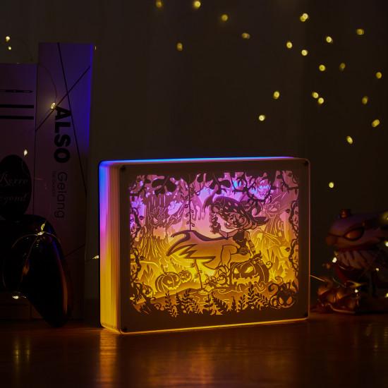 Underwater World 3D PAPER CUT LIGHTBOX
