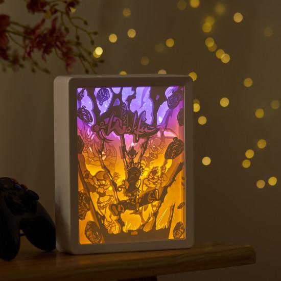 Wakfu 3D PAPER CUT LIGHTBOX
