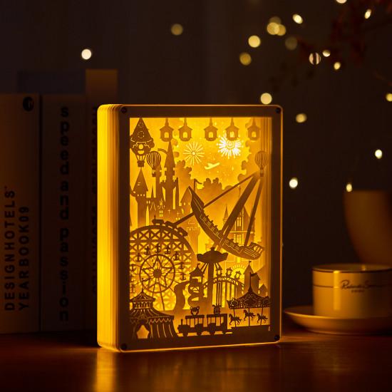Playground 3D PAPER CUT LIGHTBOX