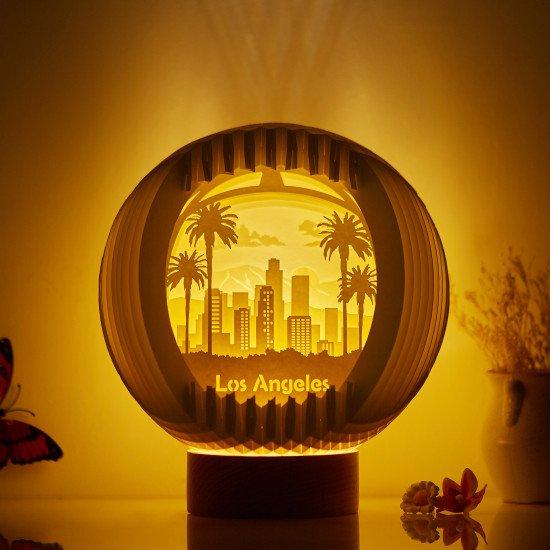 Los Angeles Sphere Pop-up lights