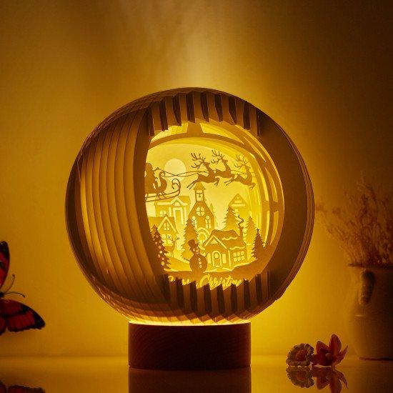 Merry Christmas Sphere Pop-up lights 02