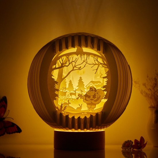 Santa Claus Sphere Pop-up lights