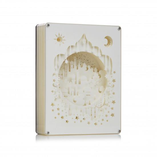 Aladdin 3D PAPER CUT LIGHTBOX